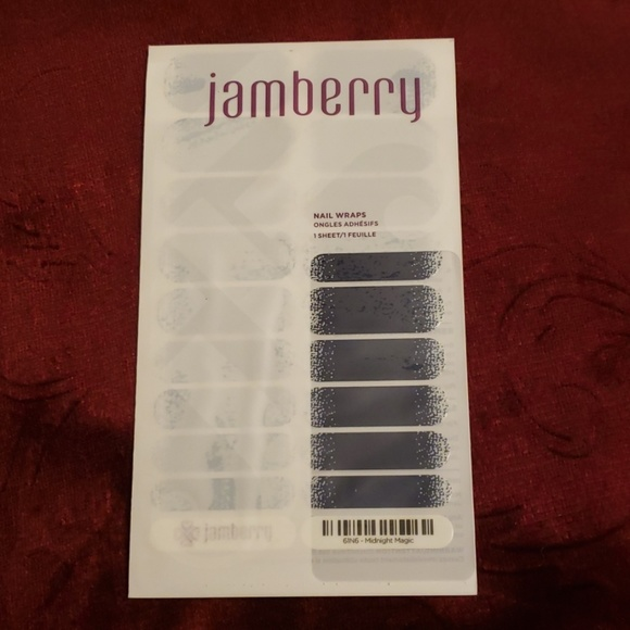 Jamberry Other - Jamberry Nail Wraps Midnight Magic